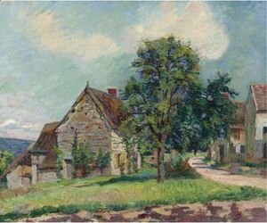 Armand Guillaumin - Village De Damiette