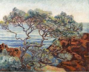 Armand Guillaumin - Les Rochers Rouges A 'Agay