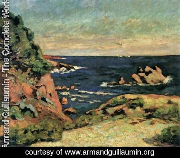 Armand Guillaumin - View of Agay