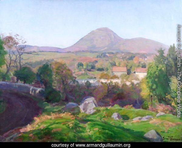 Landscape of Puy de Dome
