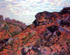 Armand Guillaumin - Crozant, les Monts Sedelle, matin
