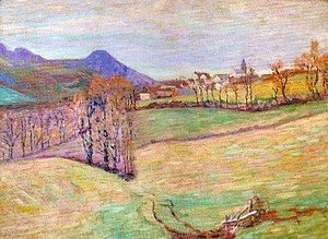 Armand Guillaumin - View of Saint-Sauves