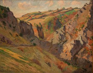 Armand Guillaumin - Caves Prunal near Pontgibaud (Auvergne)