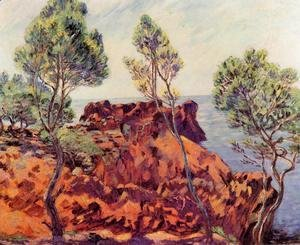 Armand Guillaumin - Agay   The Red Rocks