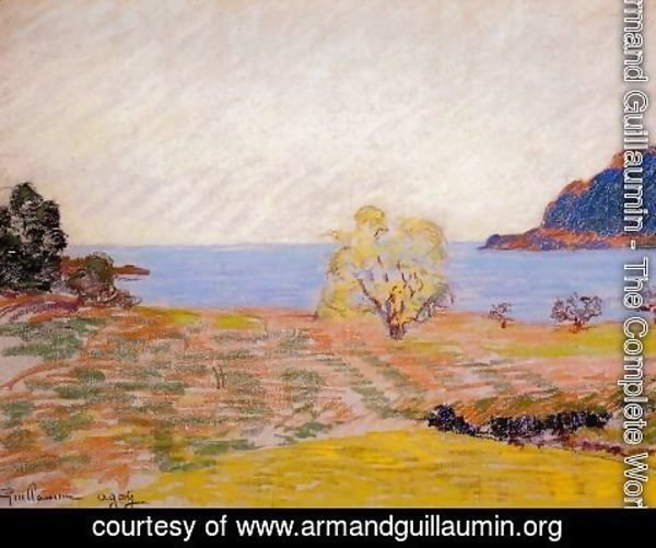 Armand Guillaumin - Agay Landscape