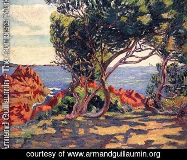Armand Guillaumin - Agay  At Cap Long