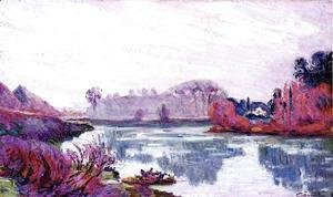 Armand Guillaumin - Banks Of The Marne In Winter