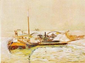 Armand Guillaumin - Barge