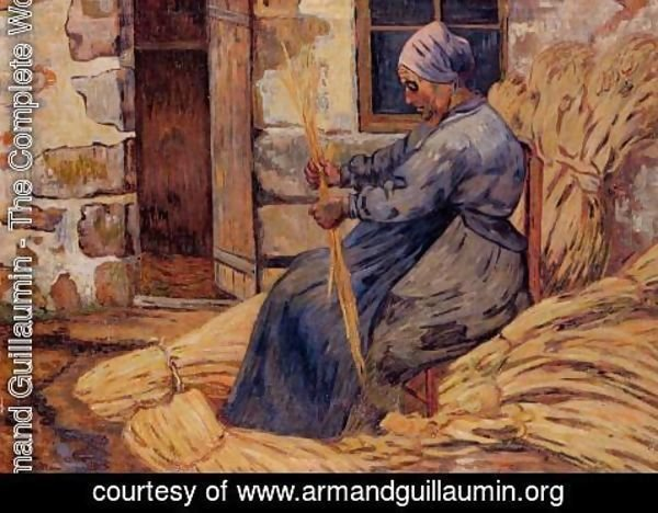 Armand Guillaumin - Basket Maker  Damiette