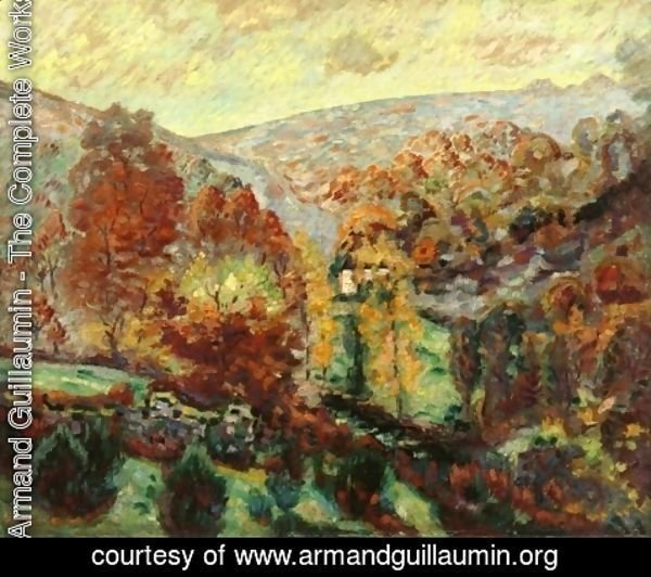 Armand Guillaumin - Crozant Landscape2