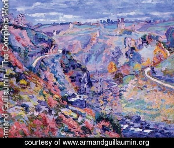 Armand Guillaumin - Crozant Landscape3