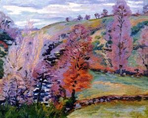 Armand Guillaumin - Crozant Landscape Aka Grey Weather
