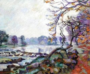 Armand Guillaumin - Dam At Genetin  Crozant