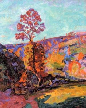 Armand Guillaumin - Landscape At Crozant