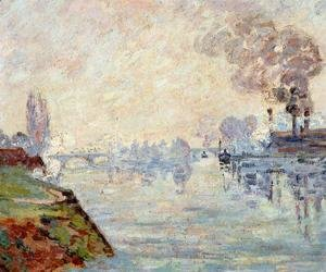 Armand Guillaumin - Landscape In The Vicinity Of Rouen
