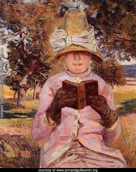 Madame Guillaumin Reading