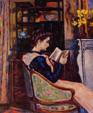Armand Guillaumin - Mademoiselle Guillaumin Reading