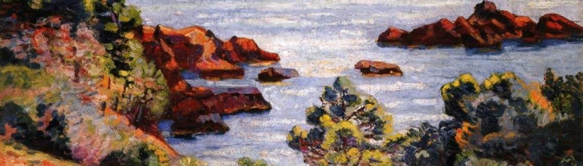 Armand Guillaumin - Midday Landscape