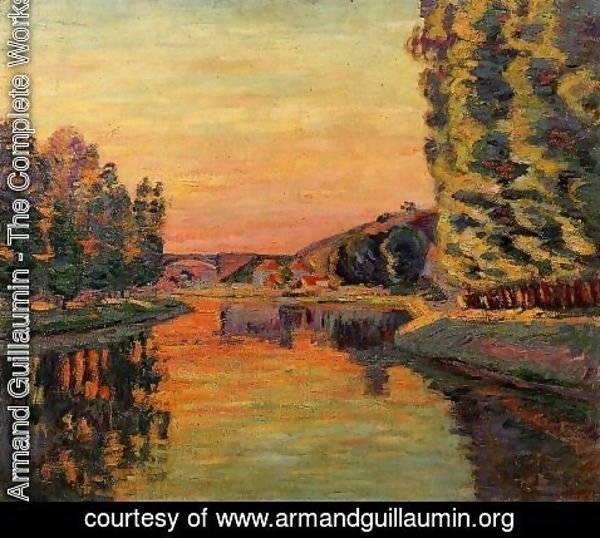 Armand Guillaumin - Moret  July 1902