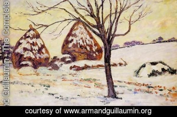 Armand Guillaumin - Palaiseau   Snow Effect