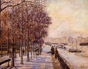 Armand Guillaumin - Place Valhubert