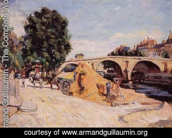 Armand Guillaumin - Pont Marie From The Quai D Anjou