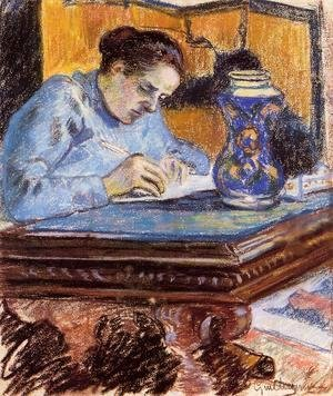 Armand Guillaumin - Portrait Of Madame Guillaumin2