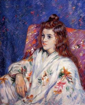 Armand Guillaumin - Portrait Of Madeleine
