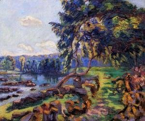 Armand Guillaumin - Rapids At Genetin