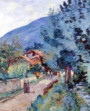 Armand Guillaumin - Rue De La Scierie   Pontcharra