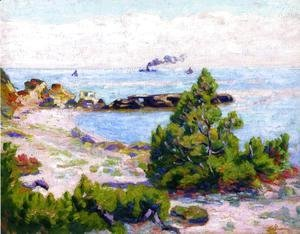 Armand Guillaumin - Saint Palais  Pointe De La Perriere