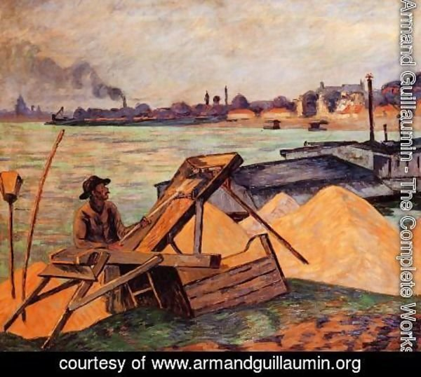Armand Guillaumin - Sifting Sand