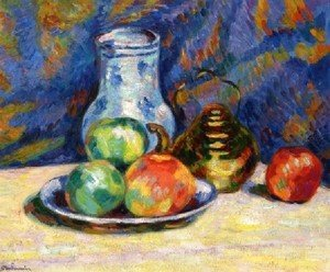 Armand Guillaumin - Still Life With Apples