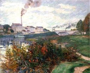 Armand Guillaumin - The Banks Of The Marne