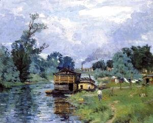 Armand Guillaumin - The Banks Of The River2