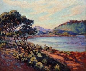 Armand Guillaumin - The Bay At Agay