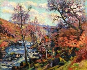 Armand Guillaumin - The Bouchardon Mill At Crozant