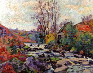 Armand Guillaumin - The Bouchardon Mill  Crozant