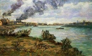Armand Guillaumin - The Confluence Of The Seine And Marne At Ivry