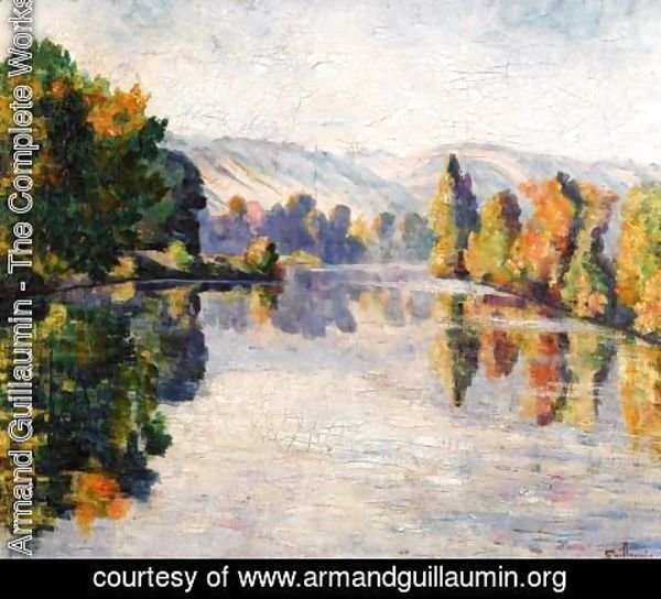 Armand Guillaumin - The Creuse In Autumn