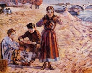 Armand Guillaumin - The Little Thieves