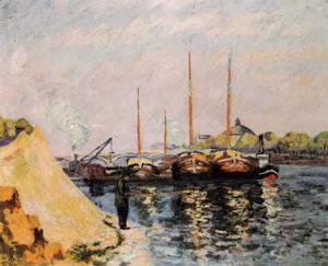 Armand Guillaumin - The Quay DAusterlitz  Morning