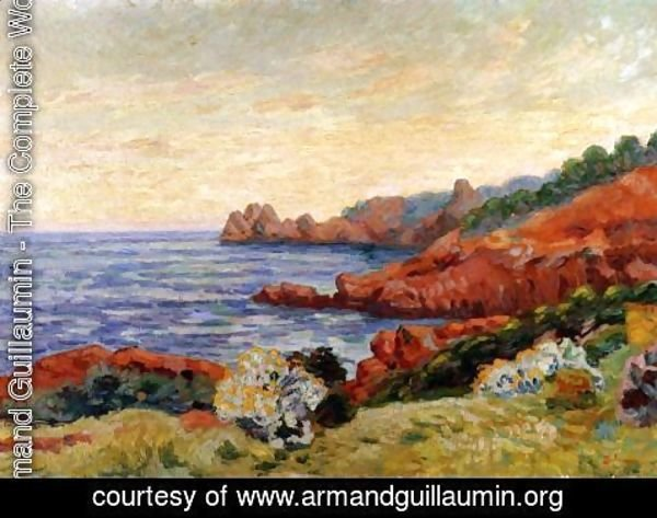 Armand Guillaumin - The Red Rocks At Agay