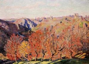 Armand Guillaumin - The Ruins At Crozant