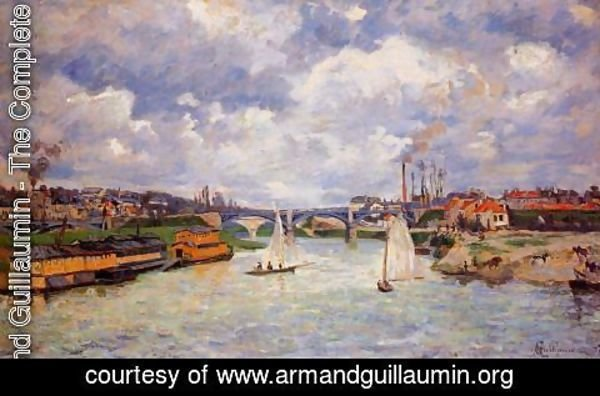 Armand Guillaumin - The Seine At Charenton