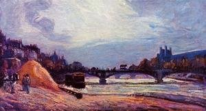 Armand Guillaumin - The Seine At Charenton2