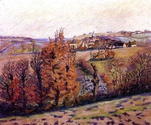 Armand Guillaumin - The Village Of Crozant
