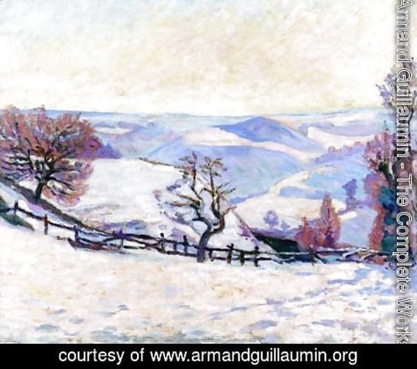 Armand Guillaumin - White Frost At Puy Barriou