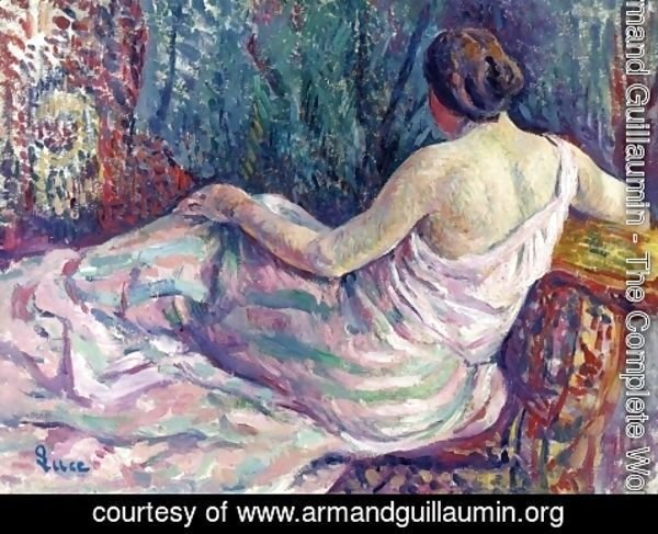 Armand Guillaumin - Woman From Behind